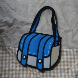 なにコレ!?手書きイラストにしか見えない不思議なバッグを買ってみた!