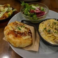新宿のハッピーパスタでスウィートフォカッチャとピッツェッタを食す!