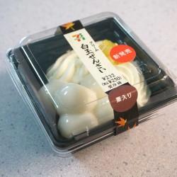 白玉がモチモチ!セブンイレブンのクリーム白玉ぜんざい(栗入り)を食べてみた