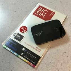 イーモバイルのGL04PがSIMフリー端末だったのでBIC SIM(IIJmio)を差して使ってみた