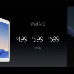 iPad Air 2はメモリ2GB、トリプルコアのA8Xチップを搭載の模様