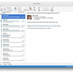 新しい「Outlook for Mac」がリリース。他のOffice製品は2015年に登場予定