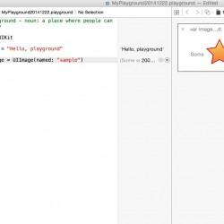 【Swift】PlaygroundでUIImageに画像を読み込む方法