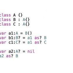 【Swift】as?演算子を使ったキャストでは結果がoptionalとなる
