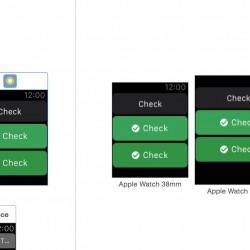 【Apple Watchアプリ】ボタン内の文字の先頭に画像を入れる方法【WatchKit】