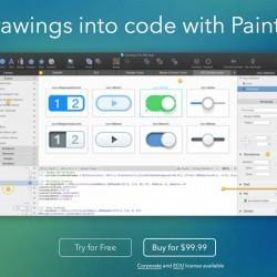 描いたベクターグラフィックをSwift/Objective-Cコードに変換できる「Paint Code 2」