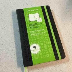 【レビュー】プレミアムコードが付属!Evernoteノートブック by モレスキン スケッチブック ラージを買ってみた