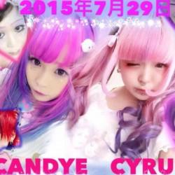 7月29日、原宿の美容院「Candye♡Syrup(キャンディシロップ)」でオープニングイベントやるそうです【派手髪】
