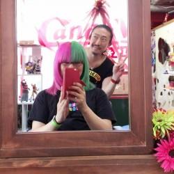 【派手髪】名古屋・大須の美容院「Candy Velvet(キャンディベルベット)」に行ってきた!