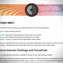 ライブラリ管理ツールCarthageのCartfileの書き方