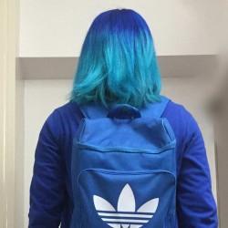 マニパニの青と水色の色落ち過程を調べてみた