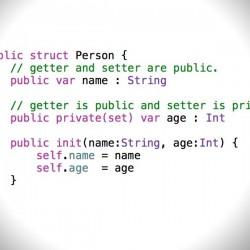 【Swift】プロパティのsetとgetには異なるアクセス修飾子を指定できる