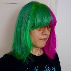 【派手髪】カラーバター ヘンプグリーンの色落ちを調べてみた