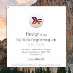 Playground搭載のHaskell for Macをインストールして使ってみた