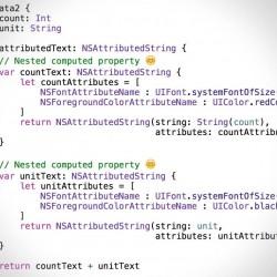 Swiftで計算型プロパティをネストさせてみる