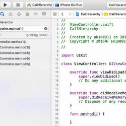 【Xcode 7】メソッドがどこから呼びだされているかを調べる方法