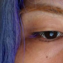 メンズ向けのカラーマツエクを東京・恵比寿のサロンでしてもらった