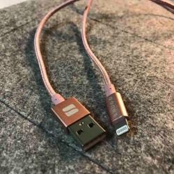 SNUGGのライトニングケーブルが耐久性高し。8ヶ月使ってますが断線の気配なし!