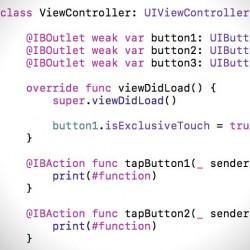 [Xcode][Swift]ボタンなどの同時タップを禁止する