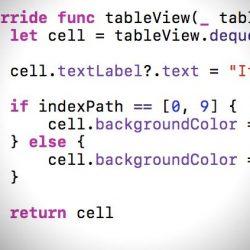[iOS][Swift] IndexPathはInt配列リテラルから作れる。Int配列リテラルとの比較もできる
