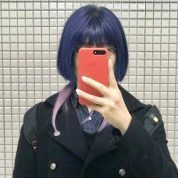 【派手髪】2.5Dカラーを提案しているヴィレ(Wille)で青&ピンクに染めてもらった!