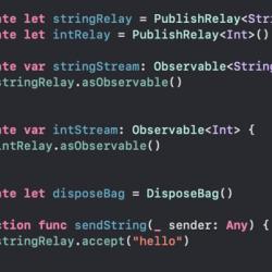 [RxSwift] 異なる型のストリームをまとめてdebounceする方法