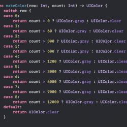 [Swift] 配列を使って冗長なswitchをシンプルにする